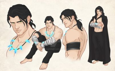 Rowen - Character Sheet by SimonPovey
