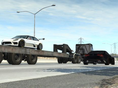 [BeamNG.drive] Hit And Go Alone. by CroqueMr