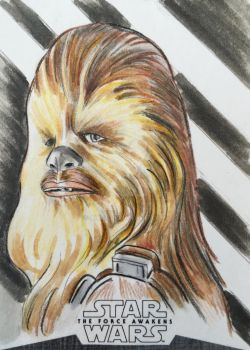 Chewbacca.  by AIart