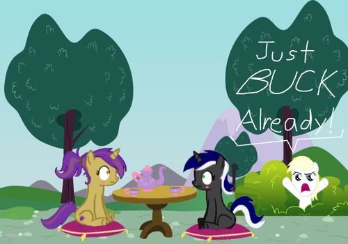 Amber and Moon Date by JexTexSSB