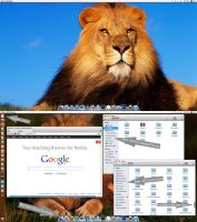 Mac-OS-Lion V4 theme pack for Ubuntu 13.04 by MBOSSG