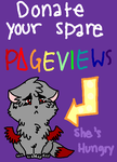 Donate Your Spare Pageviews by WhereShadowsThrive