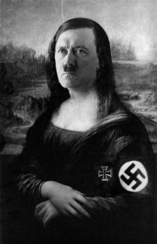 Mona Hitler by dashinvaine
