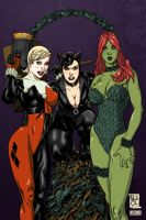 DC BadGirls by PauloSiqueira by VPizarro626