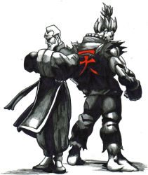 gen and akuma by trunks24
