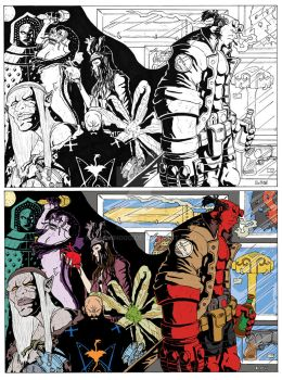 20 Years of Hellboy Contest Piece by Marvin000