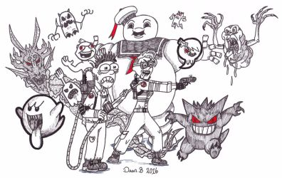 Ghostbusters by XenoTeeth3