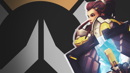 Overwatch Side Profile Wallpaper - Brigitte by PT-Desu