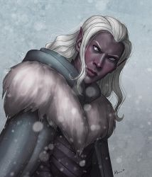Drizzt by karchew