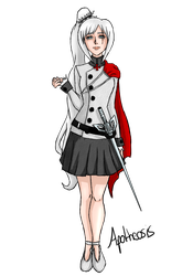 Weiss Schnee - The Templar Princess by Worldofbaka