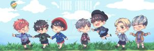 FA : BTS - Young Forever by padisaja