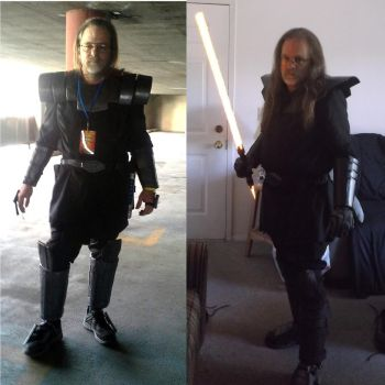 Sith Armor cosplay-side by side by Roguewing