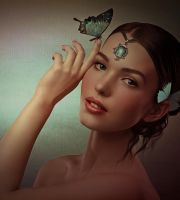 Miss Butterfly by SuicideOmen