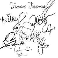 Firmas Famosos by pretty-itzel-G