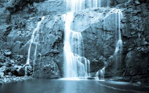 cold falls wallpaper by obwilson