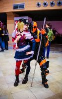 Harley Quinn and Deathstroke by 13-Melissa-Salvatore