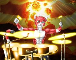 Cms63_the_horrible_drummer by Darkgoose