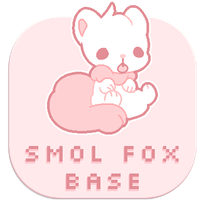 [ P2U Base ] Smol Fox by witchie-pie