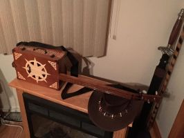 Custom Built 3 String Guitar by Domras
