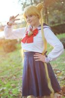 You can't discover my secret. Usagi cosplay. by Giuzzys
