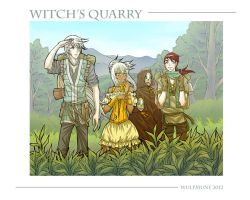 Witch's Quarry WP by wulfmune