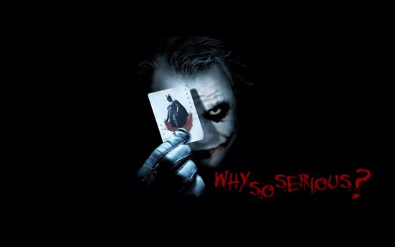 why so serious ? by beep-a-zoid