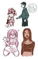 Doodles by carlymaedraws