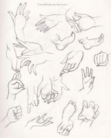 .: Hand Practices (and feet) :. by MissLunacrest