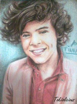 Harry Styles mini drawing by Tokiiolicious