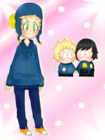 Tweek in Craig's clothes by TweekPark