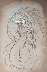 God of the Ocean by fainting-goat