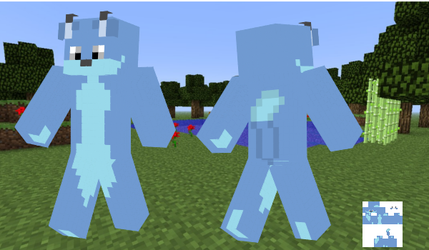 The Blue Fox Minecraft Skin by BlueFoxThom