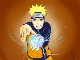 Naruto Showing Off (Finished) by PickitPowerStudios
