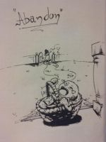 DAY 02 - Abandon by Art-by-Evan