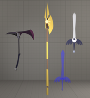 Fall of the Crystal Empire weapon pack by ZelenKor