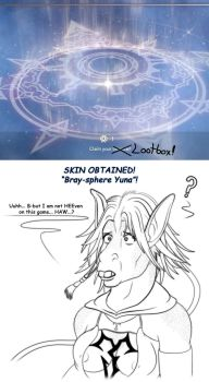 Dissidia TF-boxes 2: Bray-sphere Yuna! by VioletRosefall