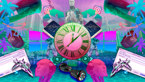 Vaporwave - What The Future Holds by SrDasGalaxias