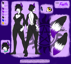 Faith's Ref sheet by FaithMutt