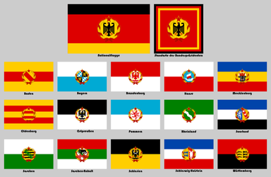 Flags for a socialist Germany by Leoninia