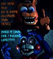 Random FNAF comic #15 ~ A normal argument by Chowie333