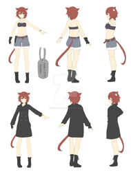 CM60 - Character Reference Sheet by Stellatiria