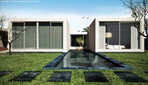 3d exterior view_pool by the3d3mocrat