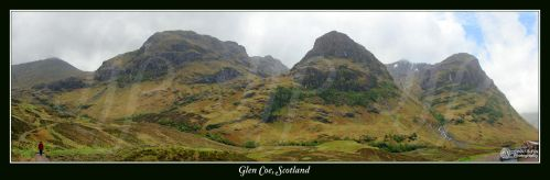 Glen Coe Panorama 2 by FoxDesigns