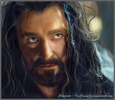 We Will All Burn Together  (Thorin Oakenshield) by Chocolate--IceCream