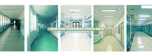 +Corridor Stock Pack by btchdirectioner