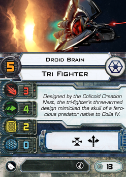 [X-Wing] Tri Fighter Droid Brain Pilot by RvBOMally