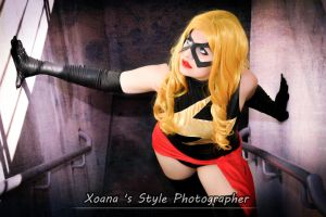 Ms. Marvel Cosplay by YutarnaThetys