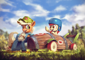 Old Timer Speed by AssasinMonkey