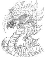 Starcraft 2 Zerg Hydralisk by Kerberos-of-Hades