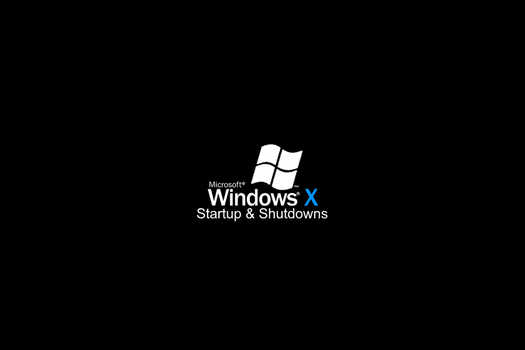 Windows X Startup and Shutdown Sounds by MinderiaYoutuber